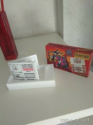 MICKEY MOUSE game & watch pocketsize version (only box)