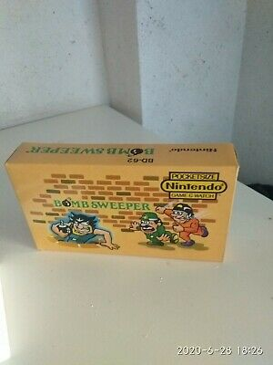BOMBSWEPER game & watch  (only box)