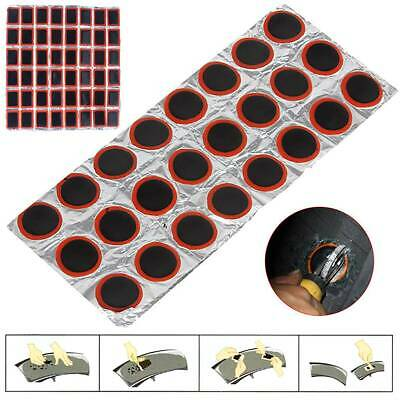 48Pcs 30Mm Round Bicycle Tyre Puncture Patch Tyre Inner Tube Prick Repair Pad F4