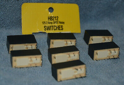 DPDT 2x C//O PCB 15A Plug In 4052-7012-0000 Finder Relay 12 Volts Vdc 8 Amps