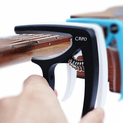 Premium Guitar Capo Trigger Clamp For Acoustic Classical Electric Guitars Banjo