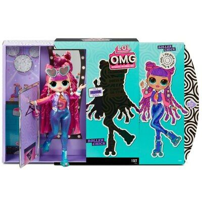 LOL OMG Roller Chick Fashion Doll with 20 Surprises Dolls Playset Series 3 NEW