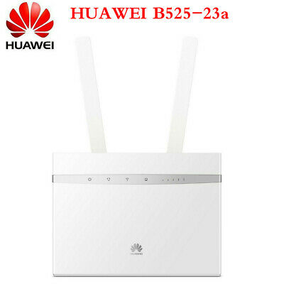 HUAWEI B525s-23a UNLOCKED CAT6 300Mbps 4G LTE WIFI ROUTER SCHEDA SIM 3G VPN VOIP