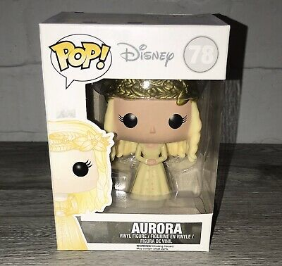 Walt Disney Maleficent Aurora Funko Pop Vinyl Princess New Damaged Box