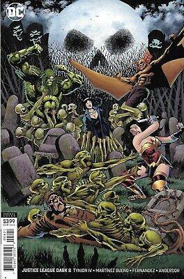 DC 2019 Justice League Dark #10 Jones Variant Cover NM Unread