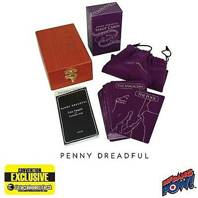 Penny Dreadful Deluxe Wood Tarot Cards Ltd New Sealed