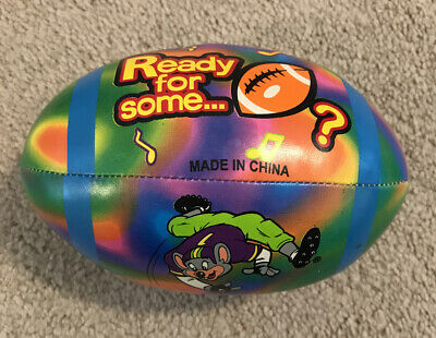 "NEW Chuck E Cheese RARE Limited 3.5/"" Soft Squishy Head New For 2020 Factory Seal"