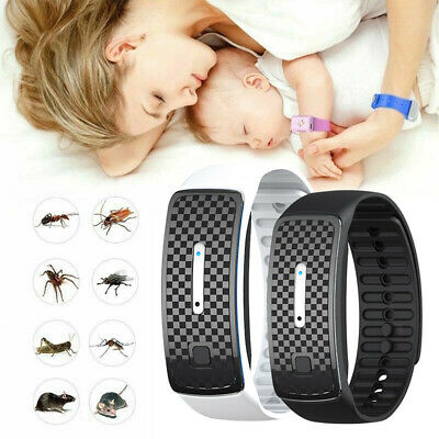 Ultraschall Anti Mosquito Pest Bug Repeller Repellent Ni Armband G7R4 C3O6