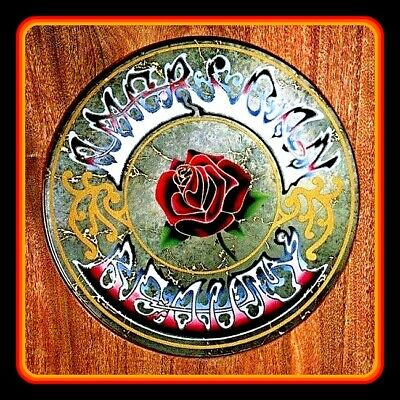 "4.25"" Grateful Dead American Beauty vinyl sticker. Album art decal for car."