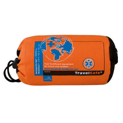 Travelsafe Mosquitera Triangular Modelo Tropical 1 Persona TS117 Red Mosquitos