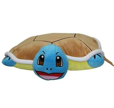 Pokemon Plüsch Figur Stofftier Shiggy Squirtle Anime Kissen Pillow 40 cm