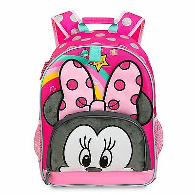 Disney Store Minnie Mouse Girl School Backpack 15 Inch