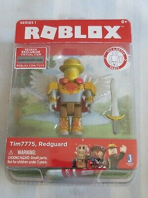 ROBLOX Tim7775 Redguard Pack Action Figure Set Gift for Kids Play Fun Toys New