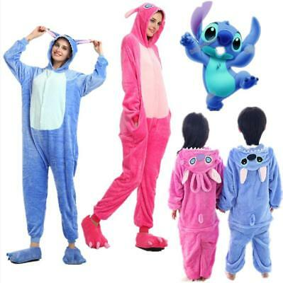 Pigiama Kigurumi intero tuta carnevale feste-donna Animali Stitch Xmas party Hot