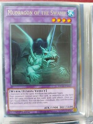 Mudragon of the Swamp Rare TOCH-EN049 Near-Mint 1st Edition 3X