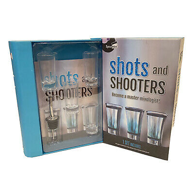 Spice Box Shots And Shooters Become A Master Mixologist Book Learn To Mix NOB