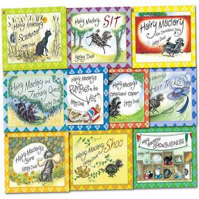 Hairy Maclary & Friend Collection Lynley Dodd 10 Books Set Children Pack NEW
