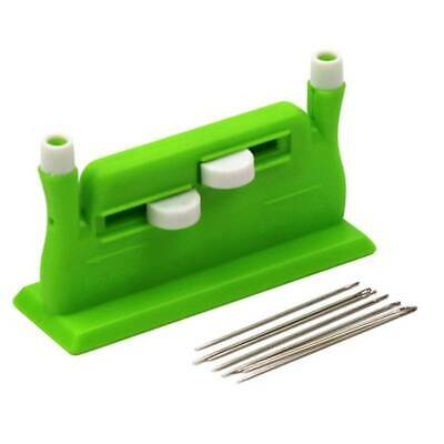 Plastic Automatic Sew Needle Threader Hand Needles Sewing Tool Accessories WO