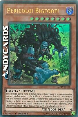 PERICOLO! BIGFOOT! (Danger! Bigfoot!) • Ultra R • MP19 IT136 • Yugioh ANDYCARDS