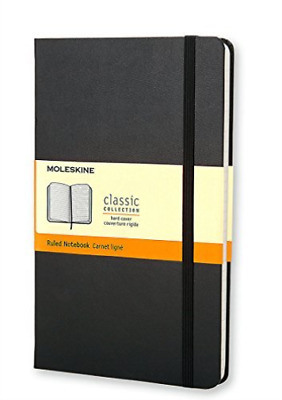 --Moleskine Ruled Notebook Large BOOK NEW