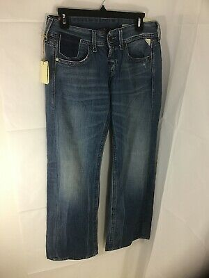Brand New With Tags Baggy Fit Waist 27 Length 32 Ladies Replay 'Janice' Jeans