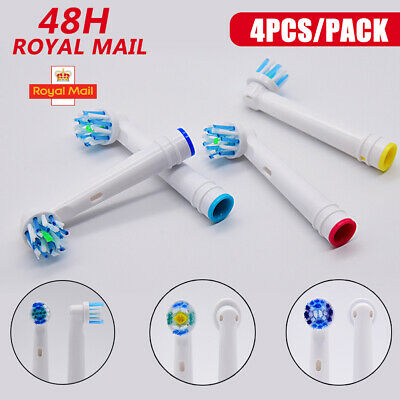 Genuine Precision Electric Toothbrush Replacement Brush Heads For Oral B Braun