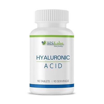 HYALURONIC ACID 70mg 90 Tablets Skin Care Anti Aging Joint Health