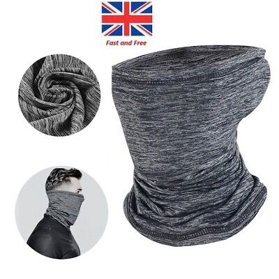 3 in 1 Face Cover Snood Scarf Neck Nice Breathable Mask Balaclava Cycling Snood