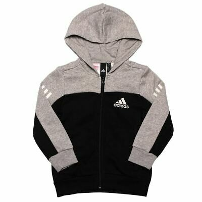 WA1 RRP £34.99 Junior Projekts NYC Denton Grey Marl Hooded Top
