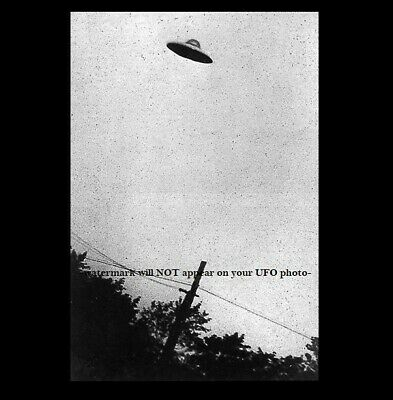 1952 UFO Flying Saucer PHOTO Passaic New Jersey Space Aliens DAYLIGHT DISC