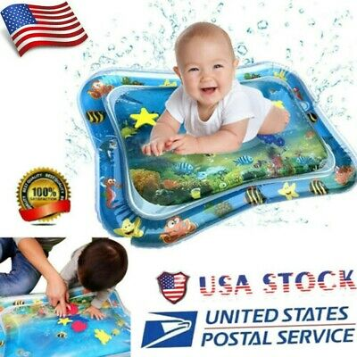 Playmat Inflatable Water Mat Infant Toddler Activity Play Center Baby Tummy Time