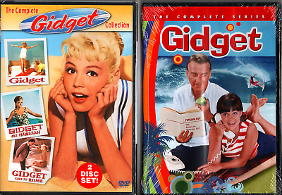 NEW, SEALED: GIDGET - The Film (3) Collection & Complete TV Series, 5 DVD Total.