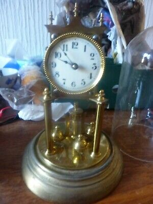 Antique 400 Day Torsion Anniversary Clock Needs New Suspension Spring