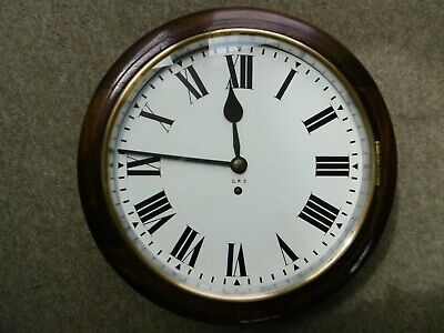 "Genuine Gpo, Post Office, Royal Mail 12"" Dial, Fusee Clock. Vgc."