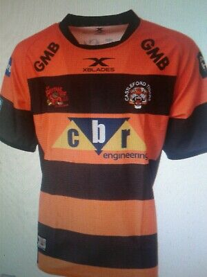 BNWT 2XL Extra Large Castleford Tigers Rugby League Shirt 2019