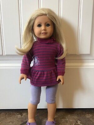American Girl Doll - super cute blonde hair, blue eyes, limbs tight and good wig