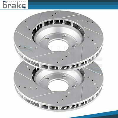 Reliance *OE REPLACEMENT* Disc Brake Rotors F2163 2 FRONTS