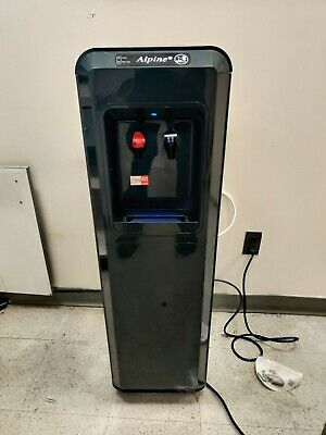 Alpine Coolers Point Of Use Floor Water Cooler with UV Sanitization