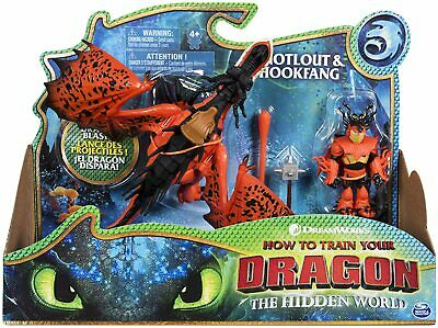 How to Train Your Dragon Snotlout & Hookfang Action Figure Set FAST DISPATCH!
