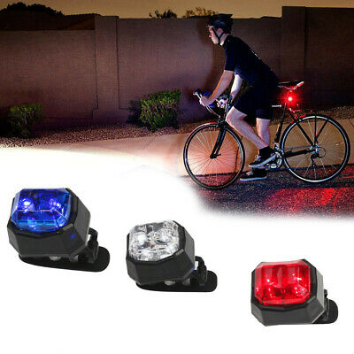 2LED Bright Bicycle Bike Safe Rear Tail Flashing Back Light Warning L lsL/_JO