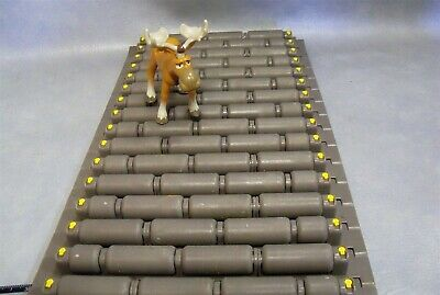 "Rex 7703 9"" Wide MatTop Conveyor Table Chain HP7703-9 Rexnord 72"" Long"