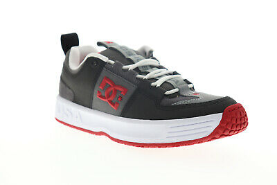 DC Lynx OG ADYS100425 Mens Gray Leather Skate Inspired Sneakers Shoes