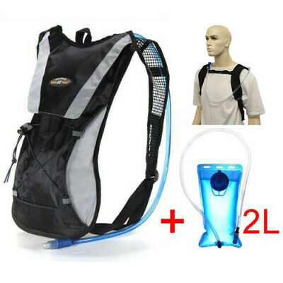Sports Backpack Hiking Hydration Pack Cycling Running Vest 2L Water Pack UK