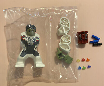 LEGO Infinity War Hulk with Red Gauntlet with all 6 stones MINIFIG  #76144