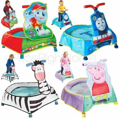 Kinder Junior Kleinkind Trampolin - Zebra, PAW PATROL Marshall, Thomas & Friends