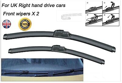 "For BMW E85 Z4 2003-2009 21//20/""Aero-D Flat windscreen Wipers Front"