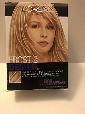 Loreal Paris Frost And Design Cap Hair Highlights For Long Hair 1 Kit 20 69 Picclick