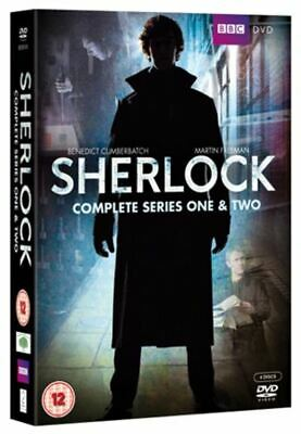 Sherlock: Complete Series One & Two DVD NEW