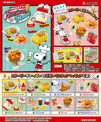RE-MENT SNOOPY American market Miniature Figia All of 8 pieces Limited Japan 137