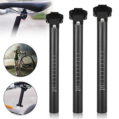 Alloy Seat Post Stem Seatpost MTB Road Mountain Bicycle Cycling 27.2-30.8MM USA